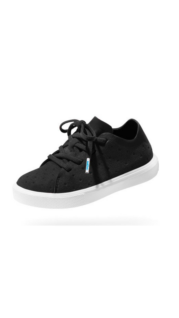 Native, Monoco Low - Jiffy Black/ Shell White