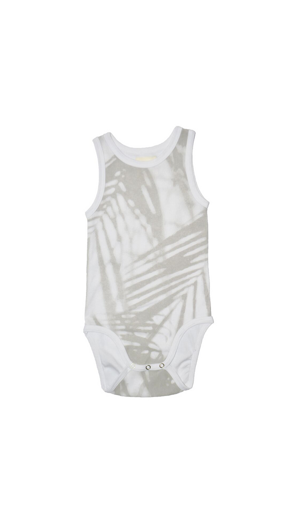Litte Urban Apparel, Onesie -Palm Shadow