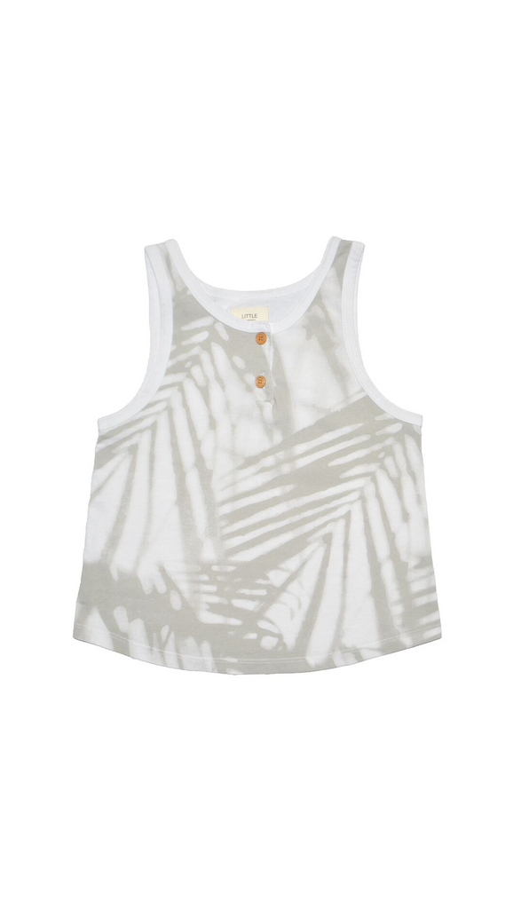 Little Urban Apparel, Tank Top - Palm Shadow
