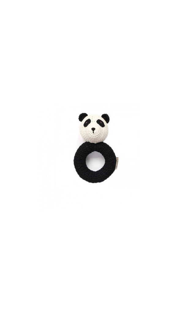 Cheengoo Panda Ring Rattle
