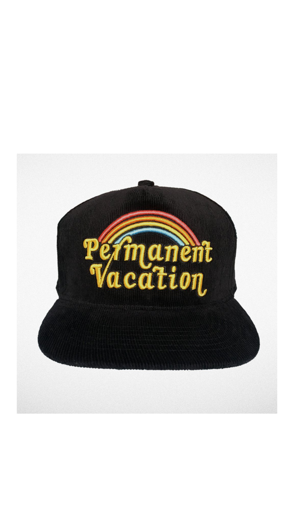 Tiny Whales, Permanent Vacation Trucker - Black