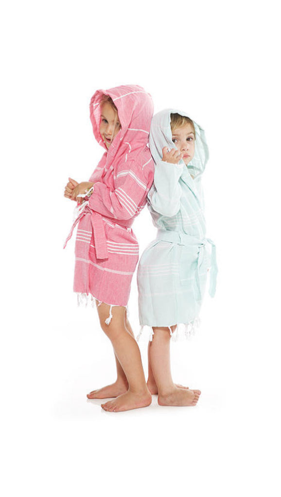 Beachwood Baby, Turkish Robe - Bahama Pink