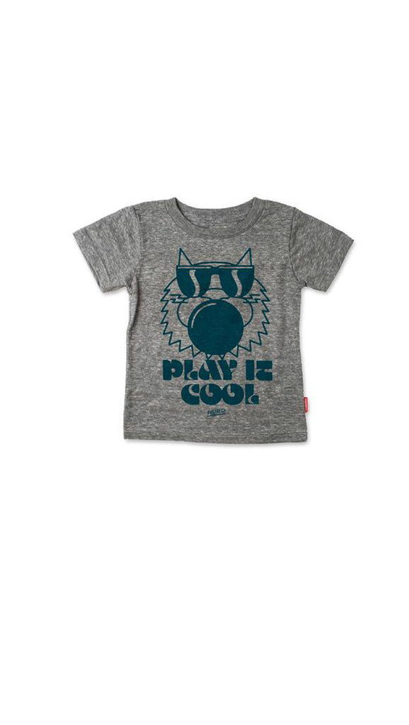 Prefresh, Play it Cool tee - Grey