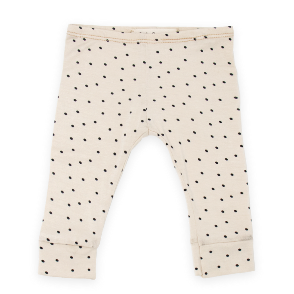 Everyday Knit Legging - Creme Dot