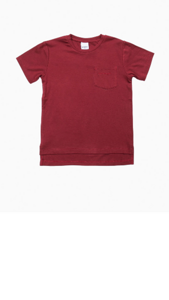 Boone Tee - Red