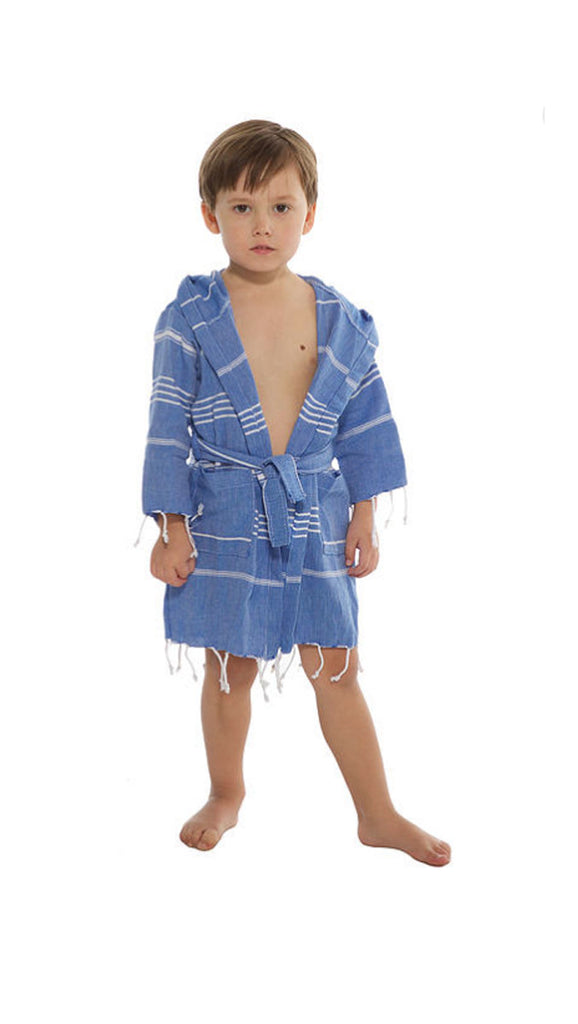 Beachwood Baby, Turkish Robe - Royal Blue
