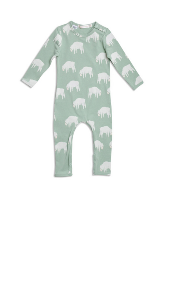 Counting Sheep Jumpsuit - Jade