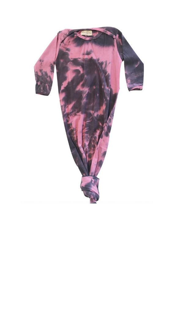 Children of the Tribe, Sleep Suit - Sunset Sky Tie Dye