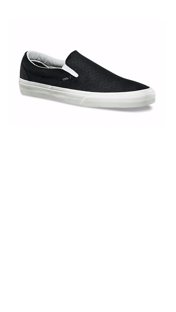 Snake Slip on - Black/Black