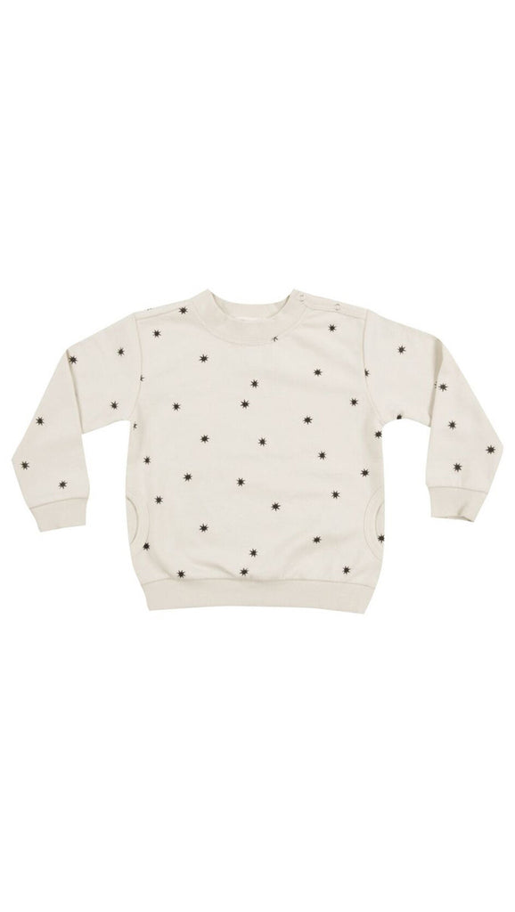 rylee + cru starlight sweatshirt - cream
