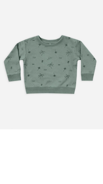 Beach Sweatshirt - Rainforest