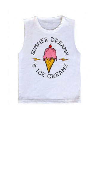 Ice Cream Dreams - White