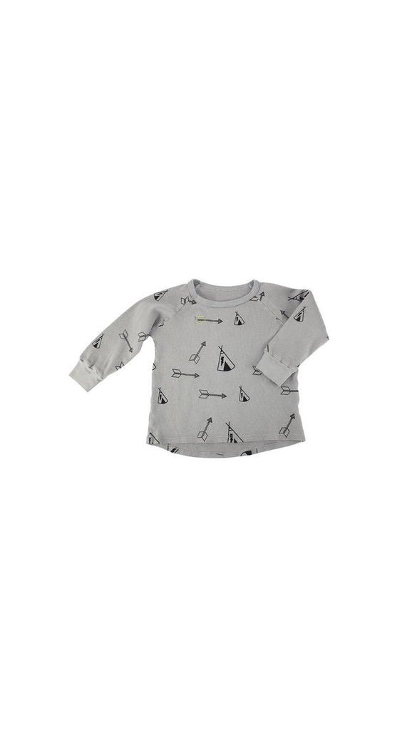 Ice Cream Castles, Tee Pee Thermal LS - Stone