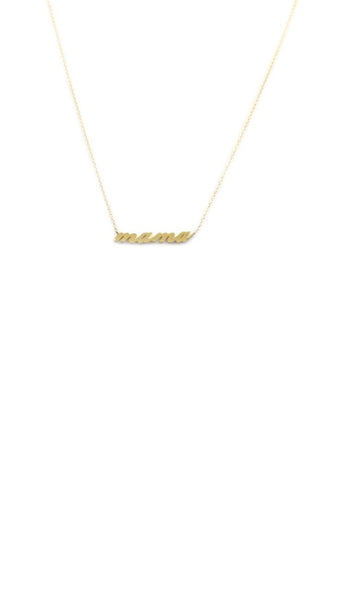 Thatch, Mama Necklace - Gold