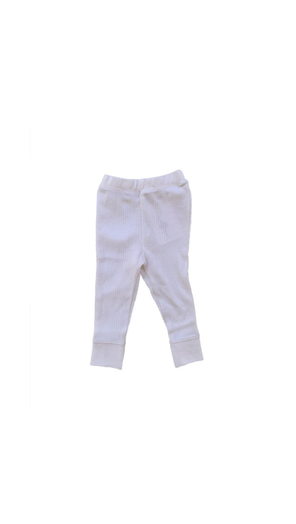 Goat Milk, Baby Thermal Pant - White