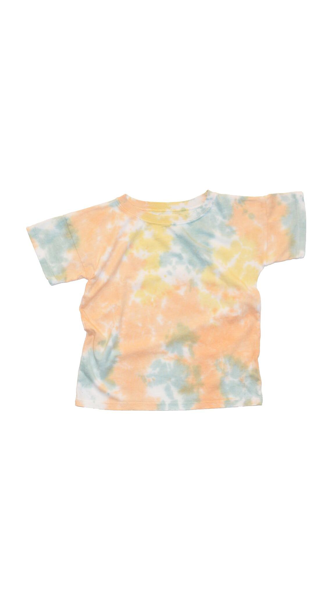 Little Urban Apparel, Boxy Tee - Earth Tie Dye