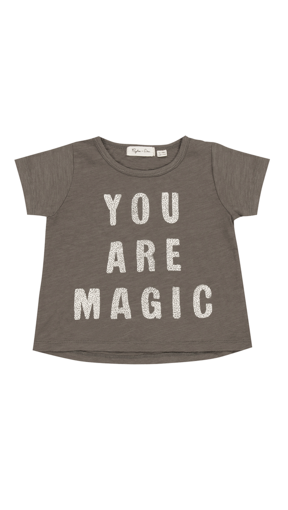 Rylee + Cru, Magic Basic tee - Slate