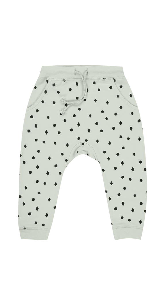 Rylee + Cru, Dots n Diamonds Sweatpants - Mint