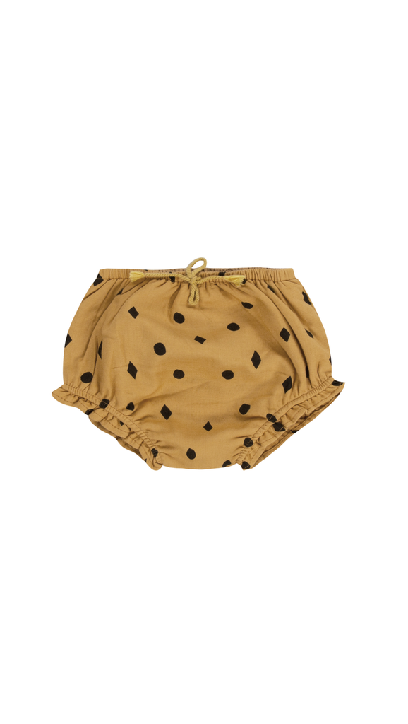 Rylee + Cru, Dots n Diamonds Bloomer - Mustard