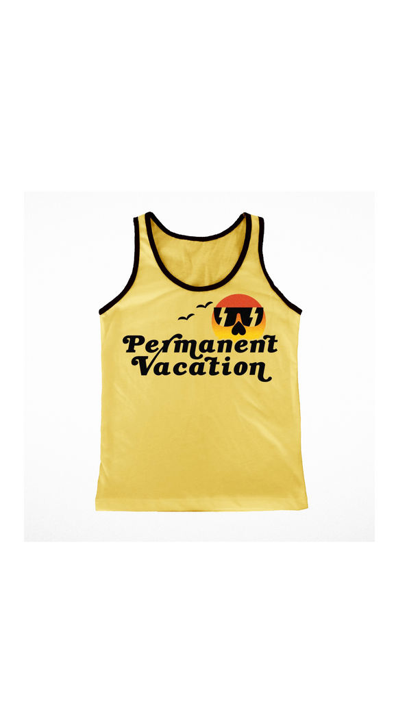Tiny Whales, Permanent Vacation Tank - Summer Gold
