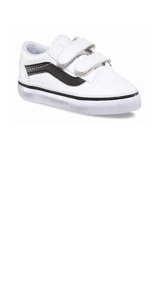 Classic Old Skool Tumble - True White/Black