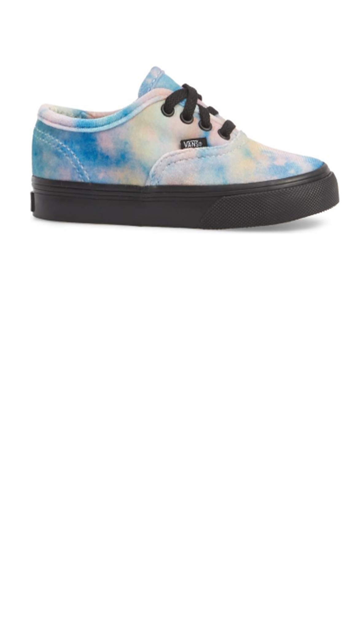 Authentic (Velvet Tie-Dye) Multi/Black