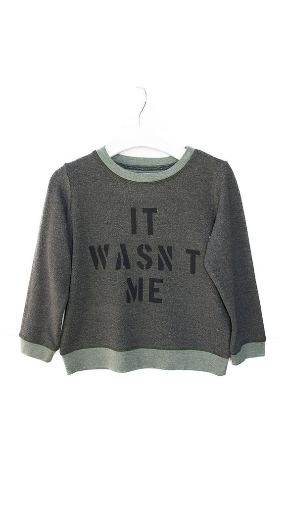 Sol Angeles, Wasn't Me Pullover - Military