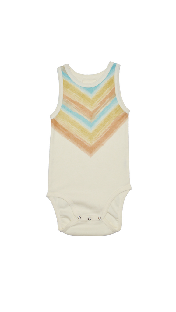 Little Urban Apparel, Onesie -  Watercolor