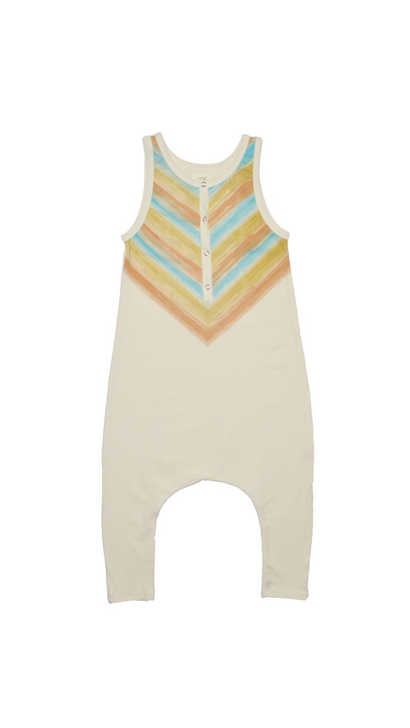 Little Urban Apparel, Romper -Watercolor