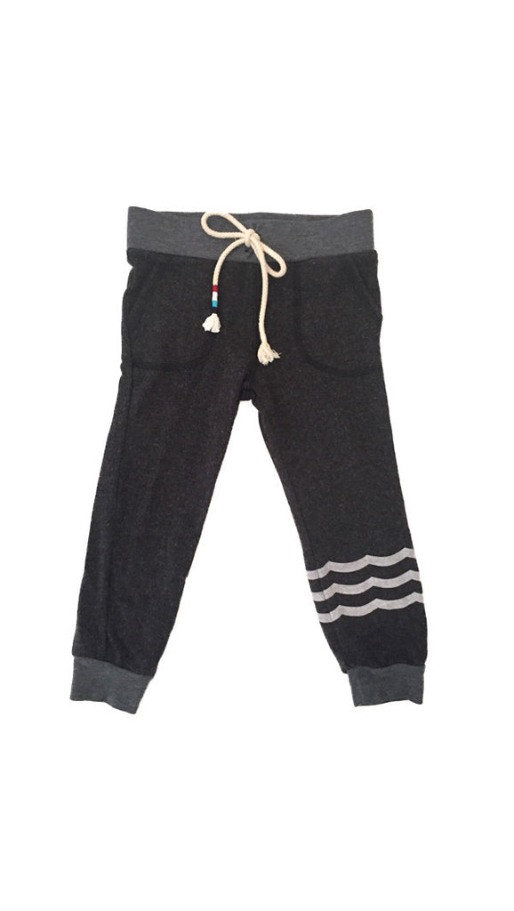 SOL ANGELES Waves Hacci Jogger - Black