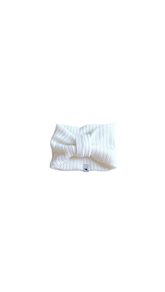 Electrik Kidz Winter Headband - off white