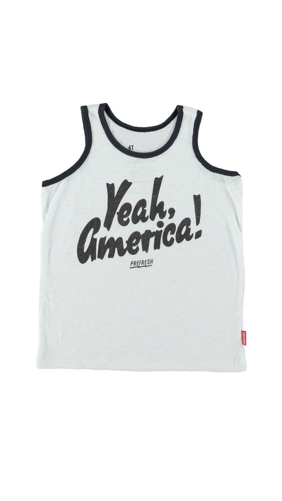 Prefresh, Yeah America - White