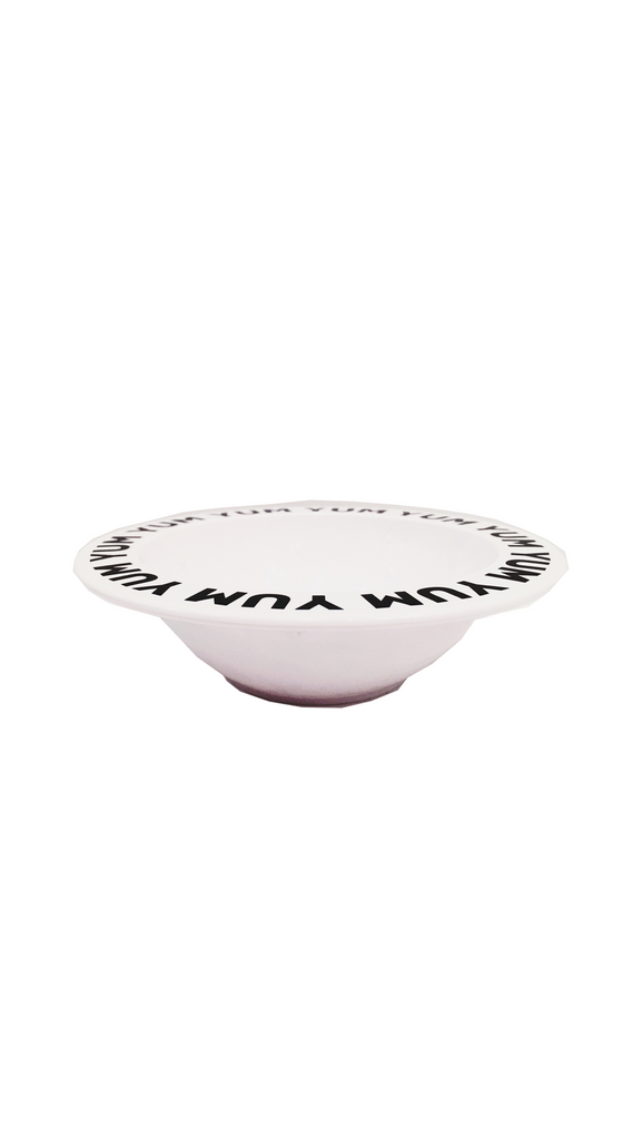 Buddy & Bear, Yum Yum Bowl - White