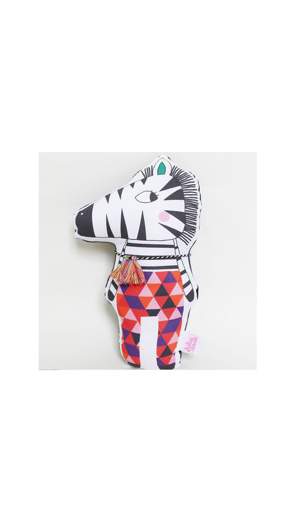Julia Staite Tribal Safari Zebra Softie