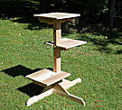 3 Tier Outdoor Cat Post