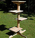 4 Tier Outdoor Cat Post