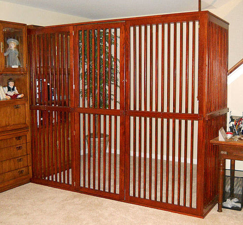 Indoor Enclosure - Extra-Tall Height, Standard Spacing