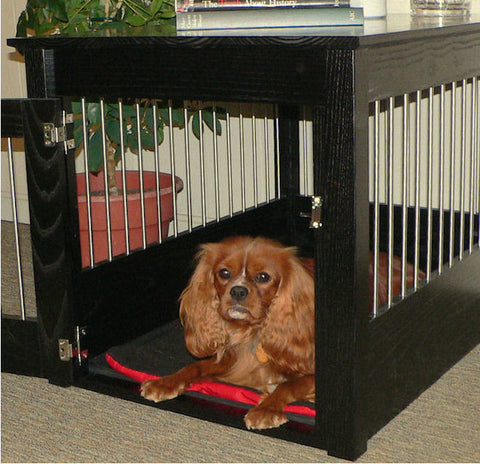 Hardwood Dog Crate