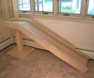 Cat Ramp With Scratching Post C Amp D Pet Products