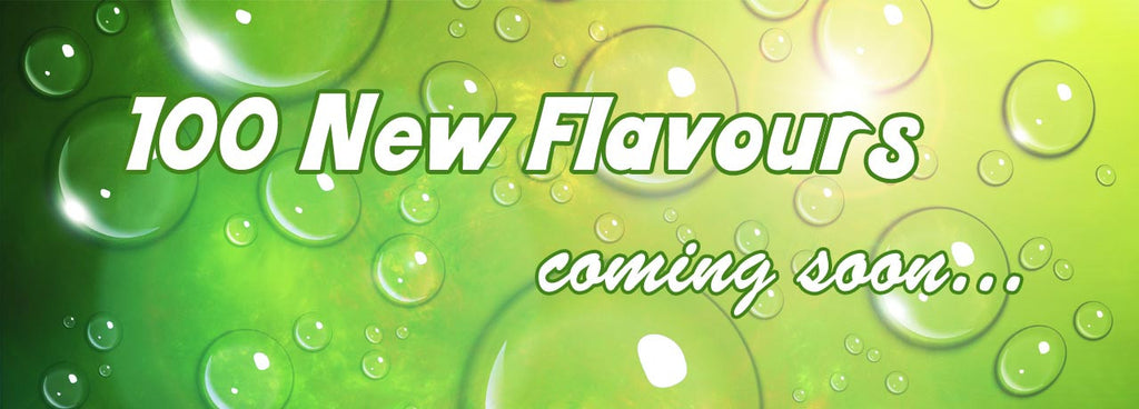 More flavours coming soon!