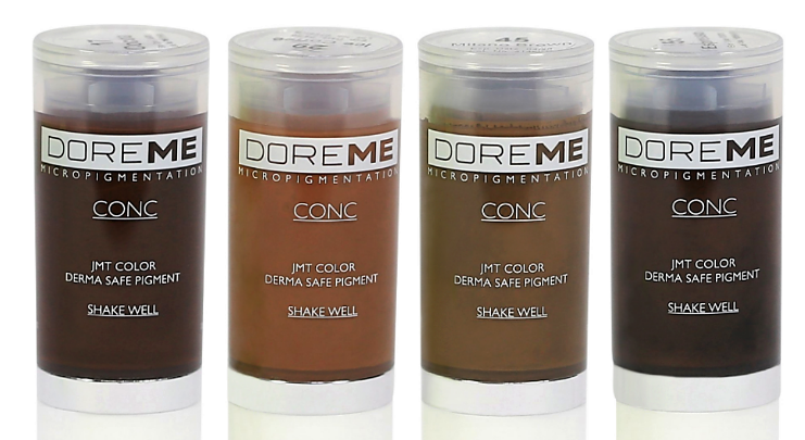 Doreme Microblading Pigments Permanent Makeup Micropigmentation Pigments UK Distributor Wholesale Supplier