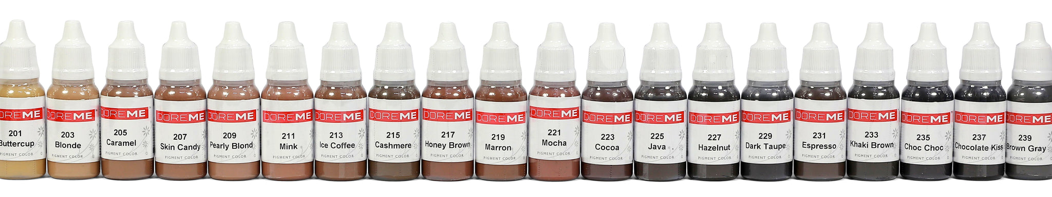 Doreme Pigments for Permanent Makeup Microblading Hand Tool UK Distributor Supplier