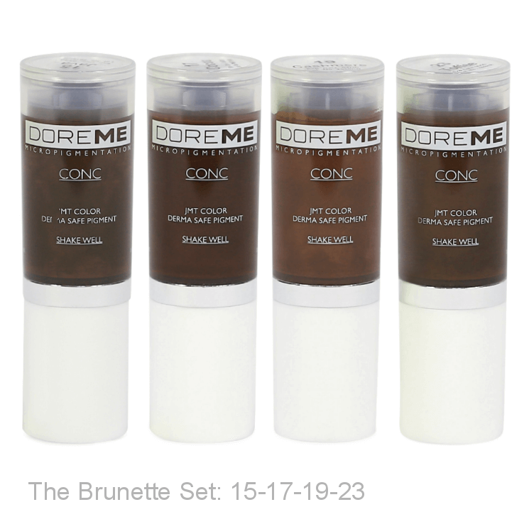 Microblading pigments Doreme CONC - Beautiful Ink UK Distributor, professional, trade & wholesale UK supplier