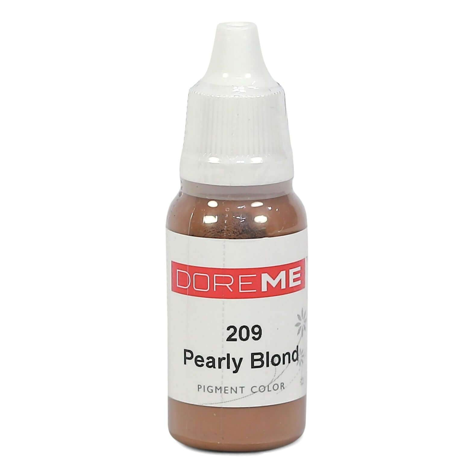 Permanent Makeup pigments Doreme Micropigmentation Eyebrow, Eyeliner, Lip Colours 209 Pearly Blond (c) - Beautiful Ink UK trade and wholesale supplier
