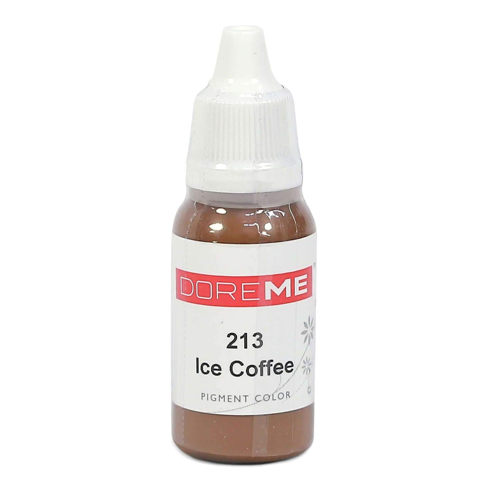 Permanent Makeup pigments Doreme Micropigmentation Eyebrow, Eyeliner, Lip Colours 213 Ice Coffee (c) - Beautiful Ink UK trade and wholesale supplier
