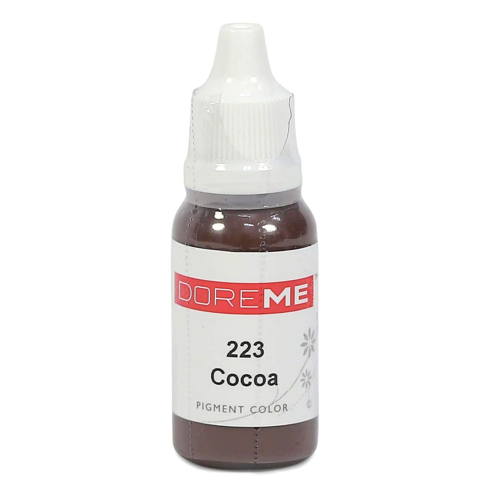 Permanent Makeup pigments Doreme Micropigmentation Eyebrow, Eyeliner, Lip Colours 223 Cocoa (c) - Beautiful Ink UK trade and wholesale supplier