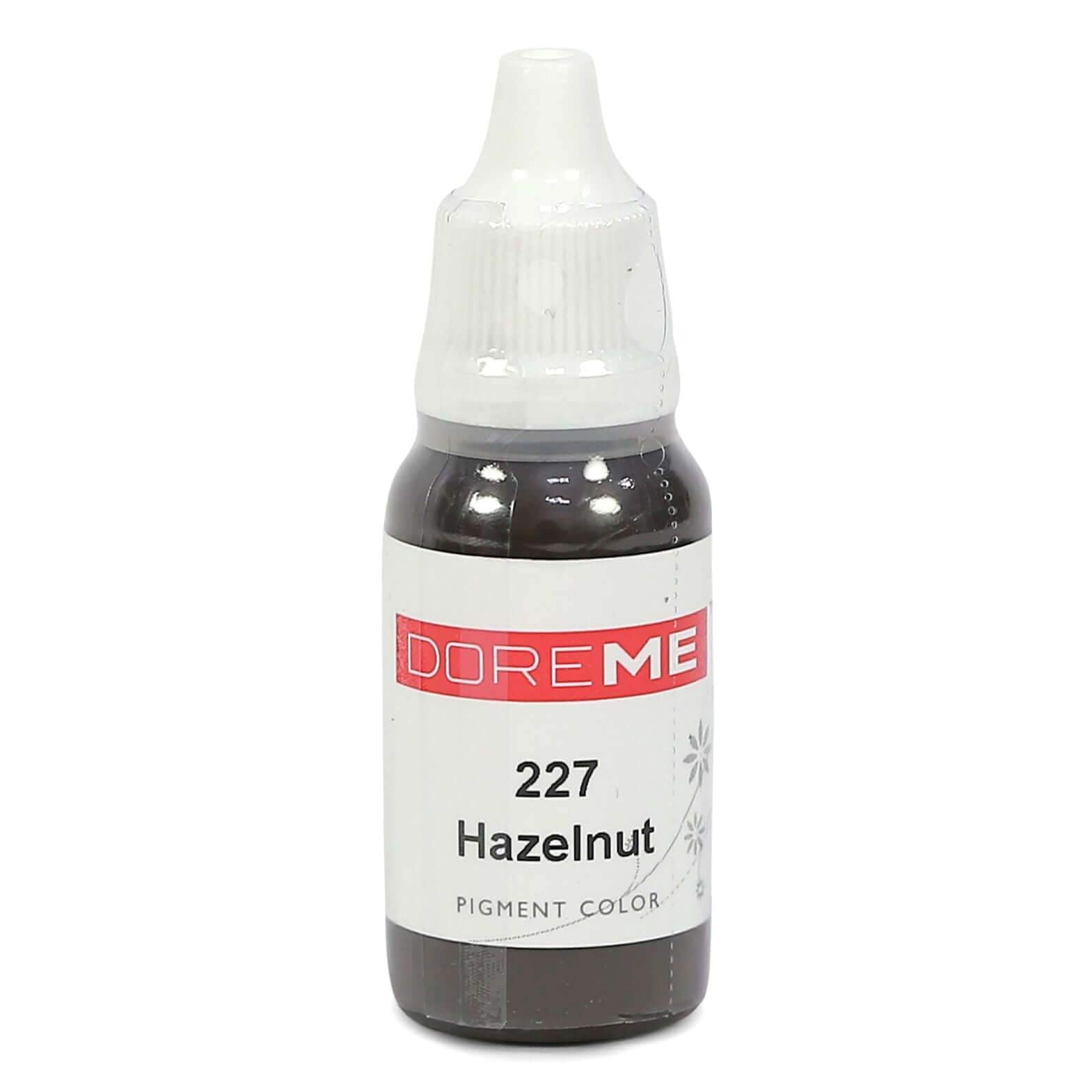 Permanent Makeup pigments Doreme Micropigmentation Eyebrow, Eyeliner, Lip Colours 227 Hazelnut (c) - Beautiful Ink UK trade and wholesale supplier