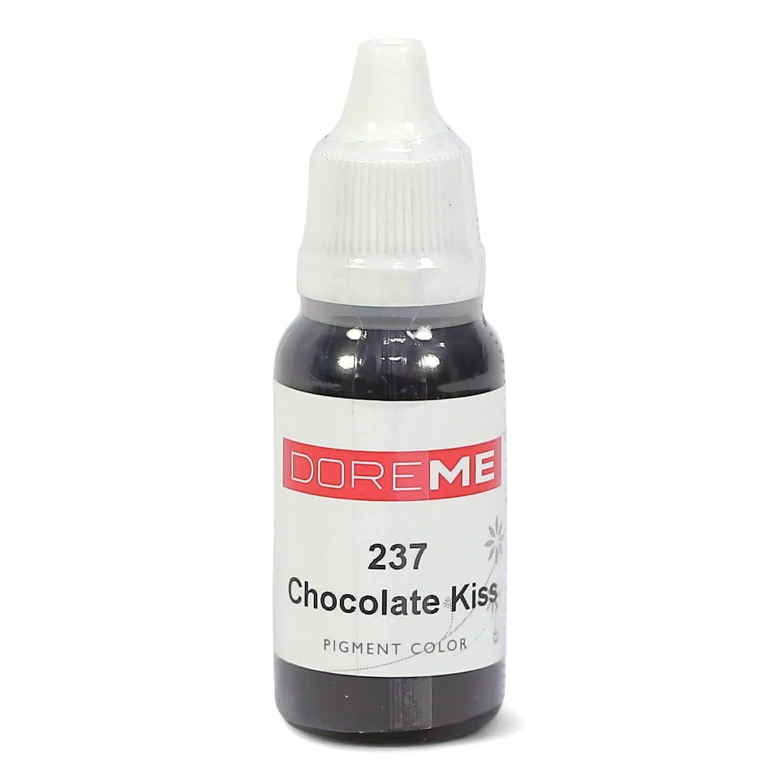 Permanent Makeup pigments Doreme Micropigmentation Eyebrow, Eyeliner, Lip Colours 237 Chocolate Kiss (c) - Beautiful Ink UK trade and wholesale supplier