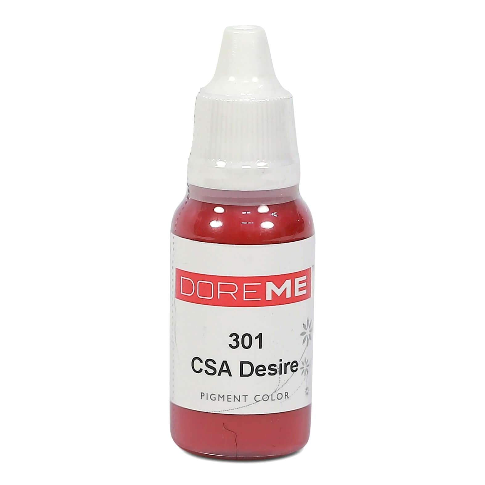 Permanent Makeup pigments Doreme Micropigmentation Eyebrow, Eyeliner, Lip Colours 301 CSA Desire (c) - Beautiful Ink UK trade and wholesale supplier