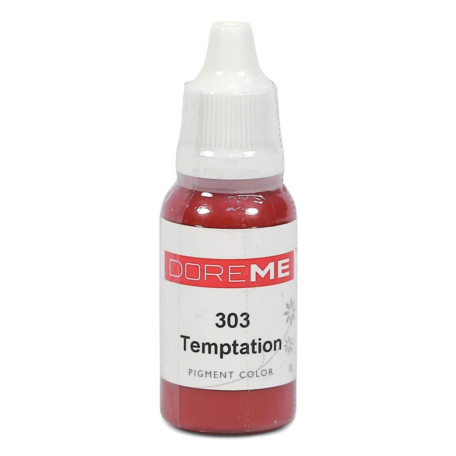 Permanent Makeup pigments Doreme Micropigmentation Eyebrow, Eyeliner, Lip Colours 303 Temptation (n) - Beautiful Ink UK trade and wholesale supplier